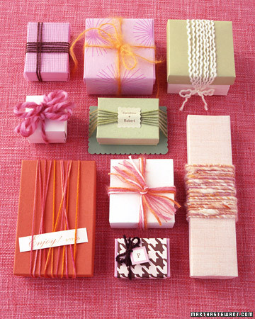 Storing Wrapping Paper