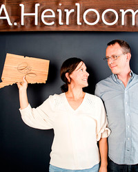 American Made Power Couples: Amy and Bill of AHeirloom