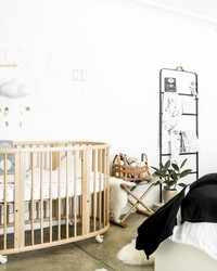 Before & After: Trading a Home Office for a Nursery