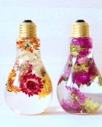 Here's a Pretty New Way to Preserve Flowers — in a Light Bulb