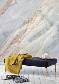6 Ways to Wow With Marble Wallpaper