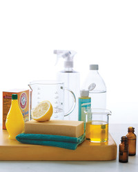 Clean Green: Natural Cleaning Products