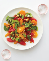 Citrus Salad with Cashews and Mint