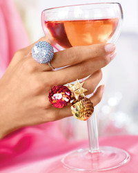 Prepare to Be Dazzled! Sequin Bauble Rings