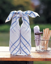 Tablecloth Bottle Wrap