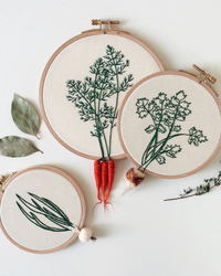 We Think This Vegetable-Inspired Embroidery Looks Downright Delicious