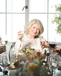 Raise a Glass to the New Martha Stewart Wine Co.