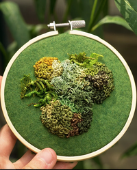 Is it Moss or Thread? This Embroidery Has Us Doing a Double Take
