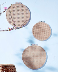 We're Willing to Bet You've Never Made This Hoop Wall-Art Before