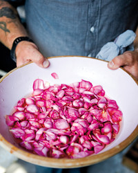 Pickled Rose Petals
