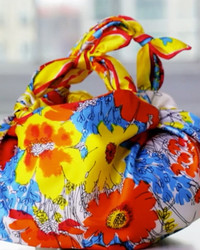 Knotted Handkerchief Handbag