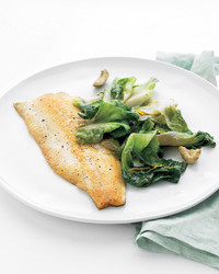 trout and escarole