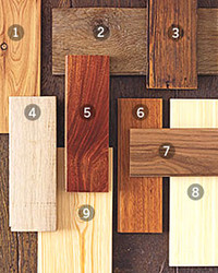 Picking the Wood for Floors