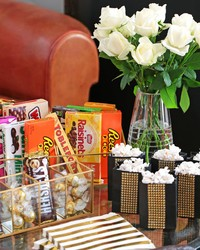 Ready to Dazzle 'Em? Set up an Oscars Party Snack Table