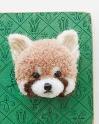 So Cute! It's a DIY Red Panda Pom-Pom Animal