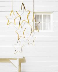 Brass Star Ornaments