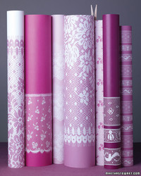 Lace Wrapping Paper
