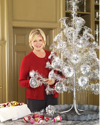 Get an Inside Look at Martha's Collection of Vintage Christmas Trees