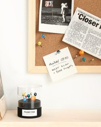 Organize Your Playroom With Hand-Painted Planet Push Pins