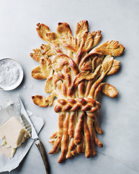 The Ultimate Thanksgiving Centerpiece? Make This Splendid Sheaf -- from Bread Dough