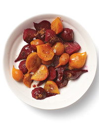 Roasted Beet Salad with Pomegranate Molasses