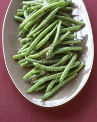 Green Beans with Vinaigrette