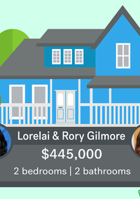 """Want to Live in Stars Hollow? Here's How Much the """"Gilmore Girls"""" Houses Would Cost Today"""