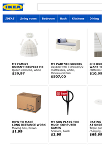 Talk About Retail Therapy! Ikea Wants to Help Solve All Your Relationship Problems