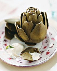 steamed artichokes