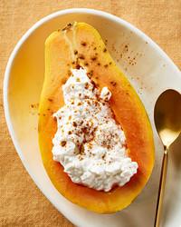 stuffed papaya