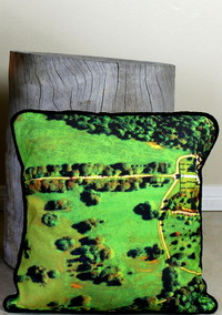 You Were Here: How to DIY a Google Maps Throw Pillow