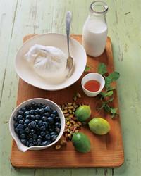 Dessert fresh ingredients