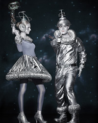 Galaxy Girl Halloween Costume