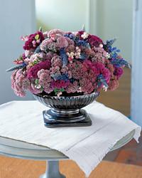 Jewel-Toned Flower Arrangement