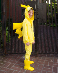 You Can Make This Pikachu Costume Using Pajamas and a Few Supplies