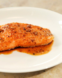 Modernist Cuisine: Sous Vide-Style Salmon and Pistachio Gelato