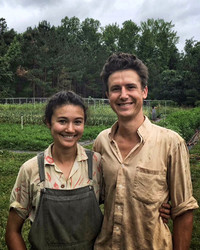 Out in the Field with Our Two Favorite Farmers