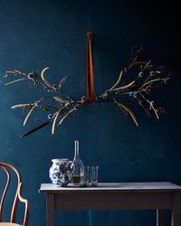 Transform a Bundle of Branches Into One Showstopping Decoration