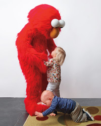 Martha Hosts an Adorable Elmo-Themed Birthday Party For Her Grandchildren