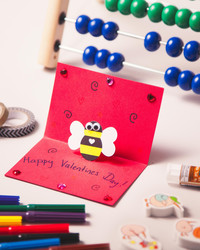 Kids' Craft: Pop-Up Valentine's Day Cards