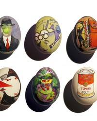 Calling All Art-Lovers! These Easter Egg Masterpieces Are For You