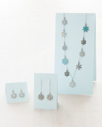 Make Your Own One-of-a-Kind Snowflake Necklace