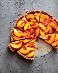 Amy Chaplin's Vegan Peach Tart