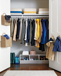 Declutter the Coat Closet