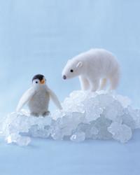 Needle-Felted Polar Bear