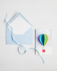 Ready for Lift-Off: 3-D Hot Air Balloon Cards