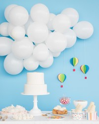 Up, Up, and Away! It's A Hot Air Balloon Baby Shower