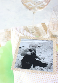 Hosting Friendsgiving? Use Childhood Photos as Place Cards