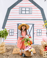 "A ""Charlotte's Web""-Inspired Birthday Party That Celebrates Spring"