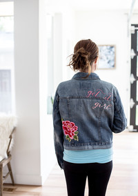 1 Denim Jacket: 3 Beautiful Ways to Customize it as YOURS